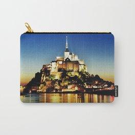 Mont-Saint-Michel Carry-All Pouch