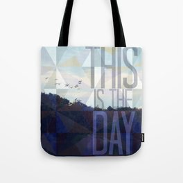 This is the Day Christian Design Tote Bag