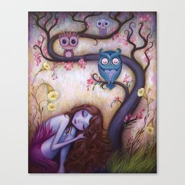 Wishing Tree Canvas Print
