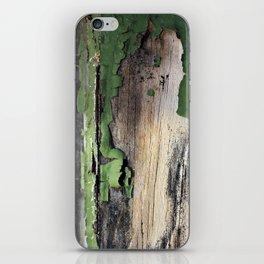 Green Peel iPhone Skin