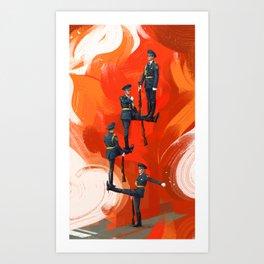 Guard Art Print