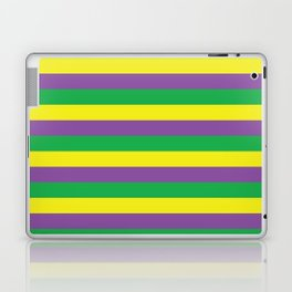 Mardi Gras Stripes Laptop & iPad Skin