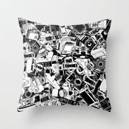 Shutterbug Throw Pillow