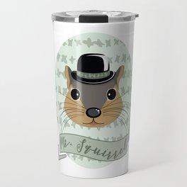 Mr. Squirrel Travel Mug