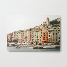Photo of the Cinque Terre, Portovenere, Italy | Fine Art Colorful Travel Photography | Metal Print