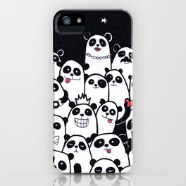 Lots of Panda iPhone Case