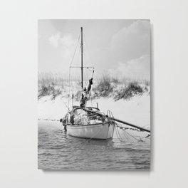 Shipwrecked 2 Metal Print