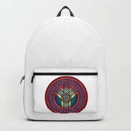 Peace Symbol - Metallic Celtic Knot Backpack