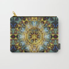 Sacred Geometry Fractal Mandala Carry-All Pouch