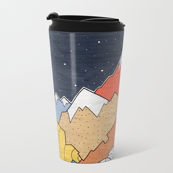 Rocky Mounts Metal Travel Mug