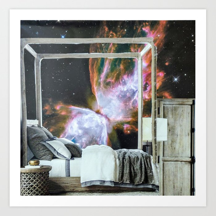 Your Modern Celestial Home III Art Print