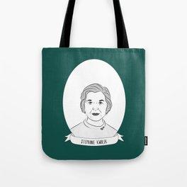 Stephanie Kwolek Illustrated Portrait Tote Bag