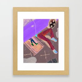Daddy's Girl Framed Art Print