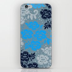 Floral Pattern #8 iPhone & iPod Skin