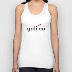 Galileo Unisex Tank Top