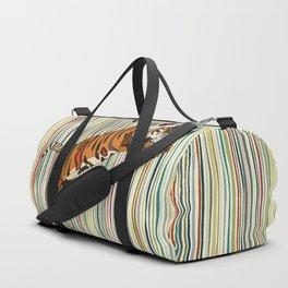 tiger stripes Duffle Bag