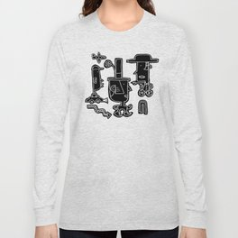 Hats on Heads #1 Long Sleeve T-shirt