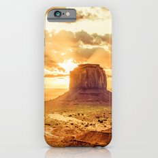 Nature Dawn - Monument Valley Navajo Tribal Park Arizona iPhone 6s Slim Case