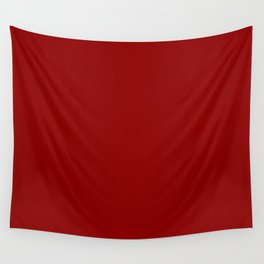 Dark Red Wall Tapestry