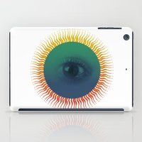 third eye iPad Cases featuring Third Eye by ochre7