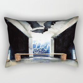 Santa Maria degli Angeli - Monte Tamaro Rectangular Pillow