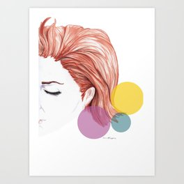days go by Art Print