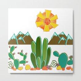 Southwest Sunshine Metal Print