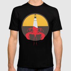 Lobster House MEDIUM Black Mens Fitted Tee