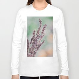 Lavender by the window Long Sleeve T-shirt