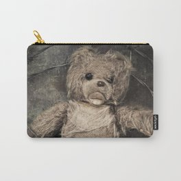 trapped teddy bear Carry-All Pouch