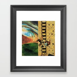 wings spanning seven feet Framed Art Print