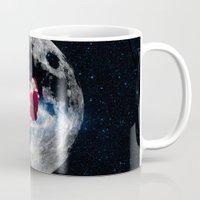 santa Mugs featuring Santa by Cs025