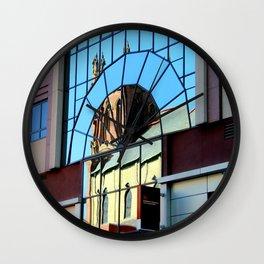 My Favorite Church Window Wall Clock