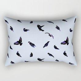 A murder of crows Rectangular Pillow