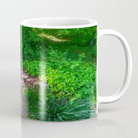 woodland Mugs featuring Woodland by Geni