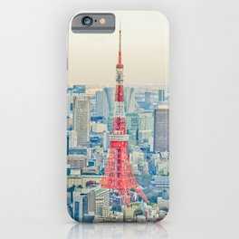 Tokyo tower iPhone Case