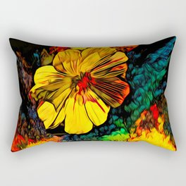 Mystique Floral Rectangular Pillow