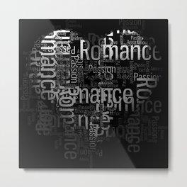 Romance Artwork Metal Print