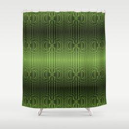 Good Green Vibrations Shower Curtain