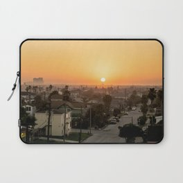 Sunset In Galveston Laptop Sleeve
