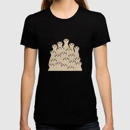 Meerkats Kalahari Desert T-shirt