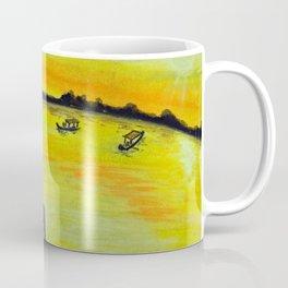 Morning on the Lake Kashmir Coffee Mug