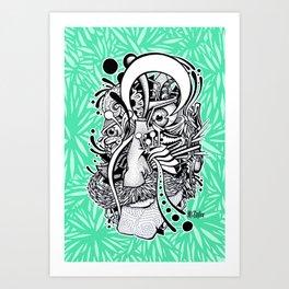 Mr. Melancholy Art Print