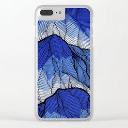 The highest peak Clear iPhone Case