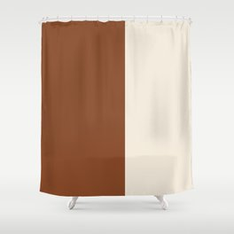 Contemporary Composition 23 Shower Curtain