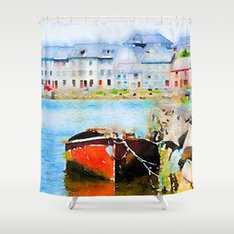 Galway Rowboat Shower Curtain