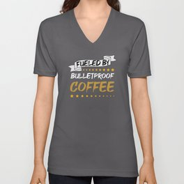 Bulletproof Coffee For The Ketogenic Diet Unisex V-Neck