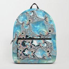 Sea Foam on Silver Sand Backpack