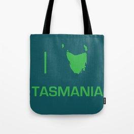 I heart Tasmania Tote Bag
