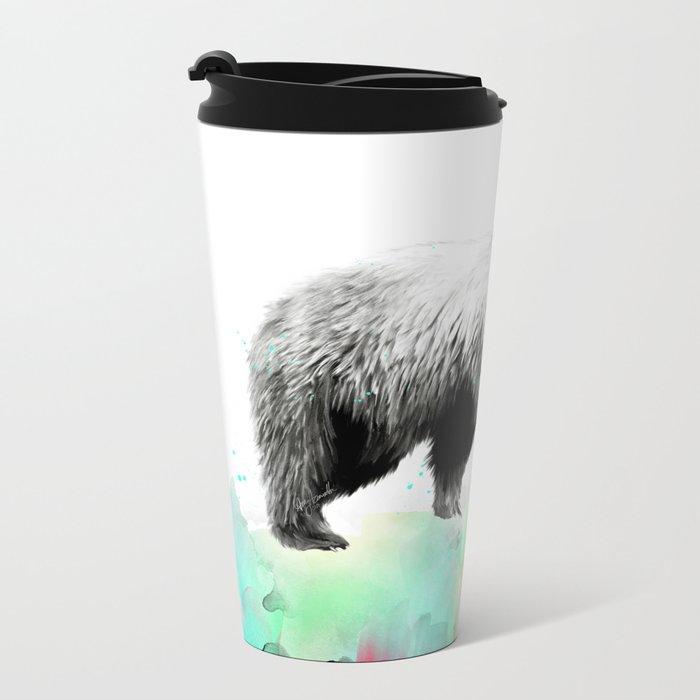 Wild No. 1 // Bear Metal Travel Mug
